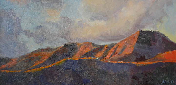 San Gorgonio Sunset by Joe White