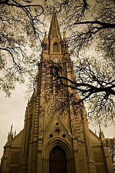 Venetia Featherstone-Witty - San Isidro Cathedral Sepia Version