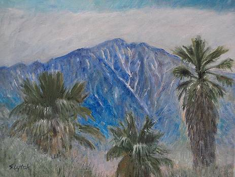 San Jacinto Mountains by Sandra Lytch