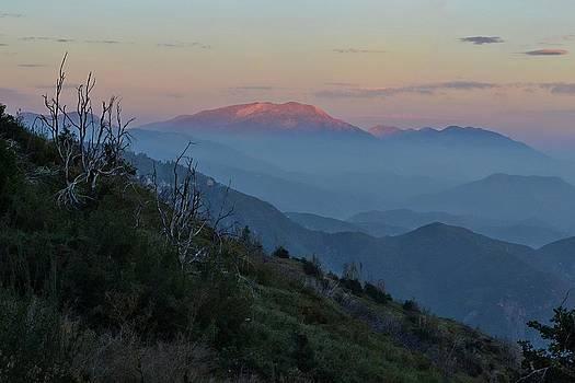Randal Bruck - San Jacinto Sunset