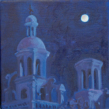 San Javier by moonlight by Christine Lytwynczuk