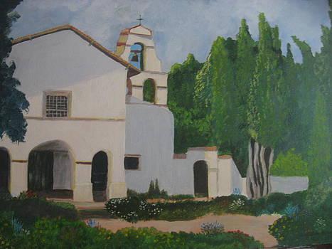 San Juan Bautista Mission by Lloyd  Gardner
