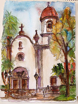 San juan Capistrano Mission Church by Michelle Gonzalez