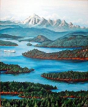 San Juan Islands by Michelle East