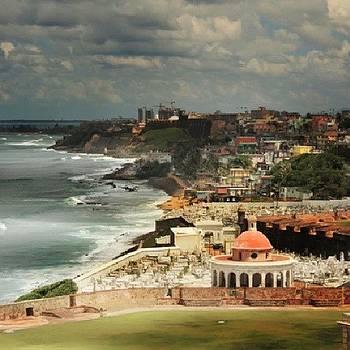 San Juan Puerto Rico #dotspin by Ron Johnson