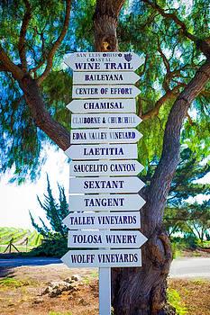 Priya Ghose - San Luis Obispo Coastal Wine Trail