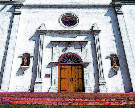 San Luis Rey de Francia Mission by Stanley N Lozowski