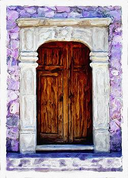 San Miguel de Allende Door 10 by Britton Britt Cagle