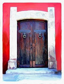 San Miguel de Allende Door 11 by Britton Britt Cagle