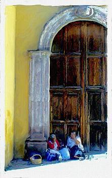 San Miguel de Allende Door 14 by Britton Britt Cagle