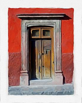 San Miguel de Allende Door 7 by Britton Britt Cagle
