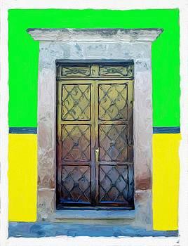 San Miguel de Allende Door 9 by Britton Britt Cagle