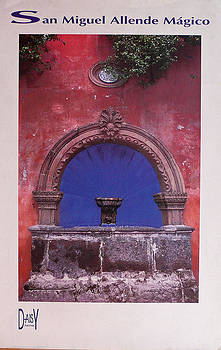 San Miguel Fountain  by Daisy Ascher
