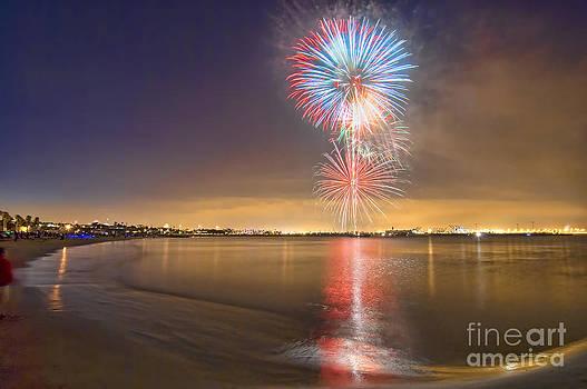 San Pedro Fireworks by Nick Carlson