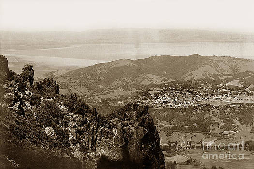 California Views Mr Pat Hathaway Archives - San Rafael from Mount Tamalpais California Circa 1905 photo by Putnam- Valentine