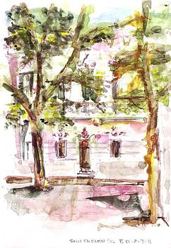 San Thelmo Square by David  Hawkins