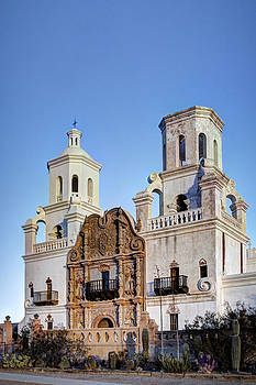 San Xavier Del Bac by J Gregory Sherman