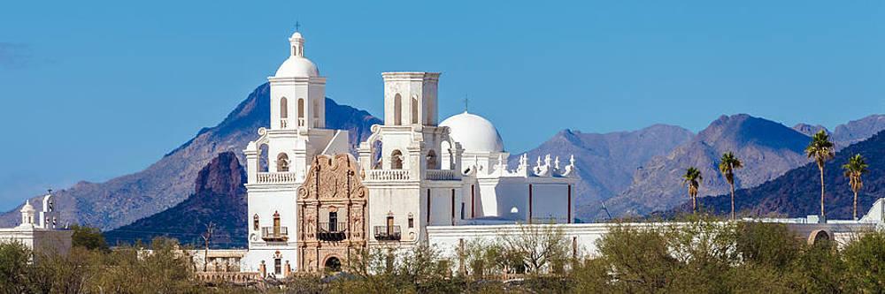 San Xavier del Bac Mission by Ed Gleichman