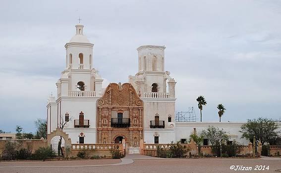 San Xavier Del Bac Mission by Jill Baum