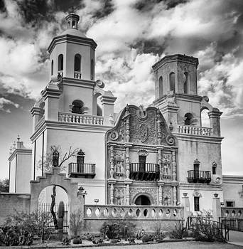 San Xavier del Bac South of Tucson by James Gordon Patterson