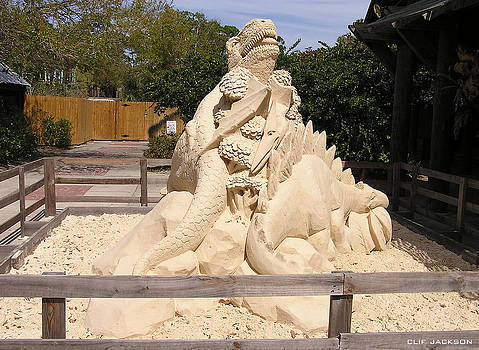 Sand Art by Clif Jackson