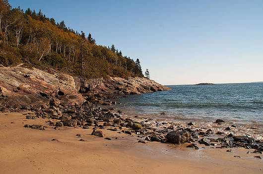 Sand Beach in Acadia 2 by Kristen Mohr