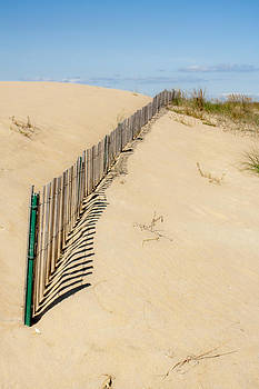 Sand Dune Fence by Dawn Romine