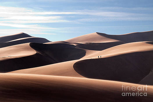 Sand Dune Trek by Robert Gaines