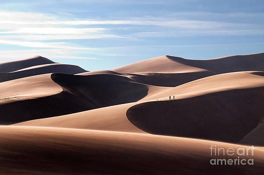 Sand Dune Trek by Robert Gaines