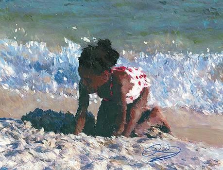 Sand Fun by Richard Booker