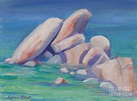 Sand Harbor Lake Tahoe by Suzanne Elliott