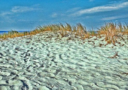 Sand in my Shoes by Oscar Alvarez Jr