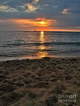 Tropical Sunset by John Perez