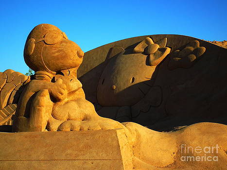 Sand Statue by Stefano Piccini