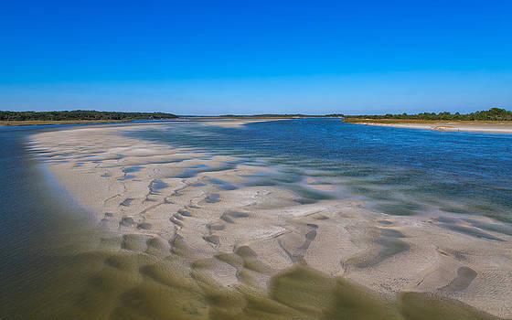 Sandbars on the Fort George River by John M Bailey