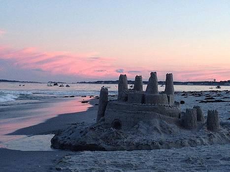 Sandcastle Sunset by Jill Moran