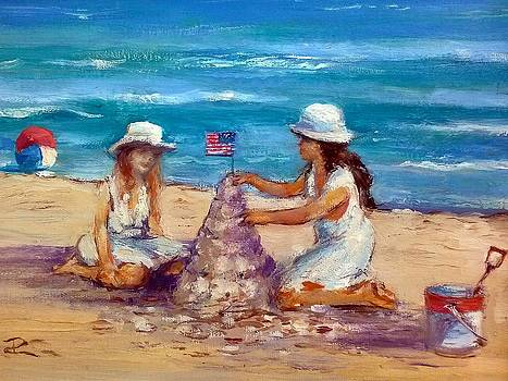 Sandcastle Time by Philip Corley