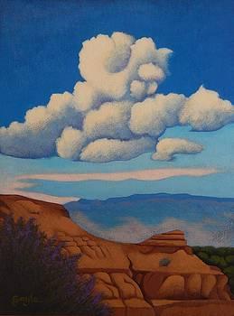 Sandia Clouds by Gayle Faucette Wisbon
