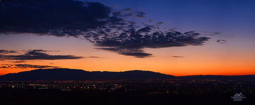 Sandia Sunrise by Richard Estrada