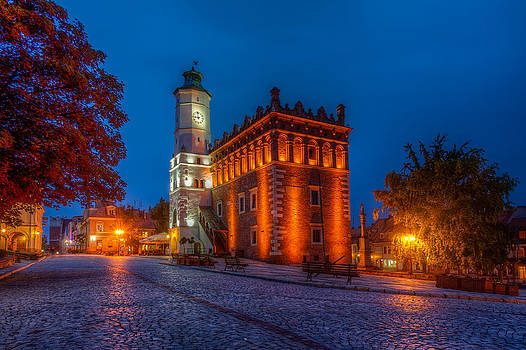 Sandomierz Town Hall by Roman St