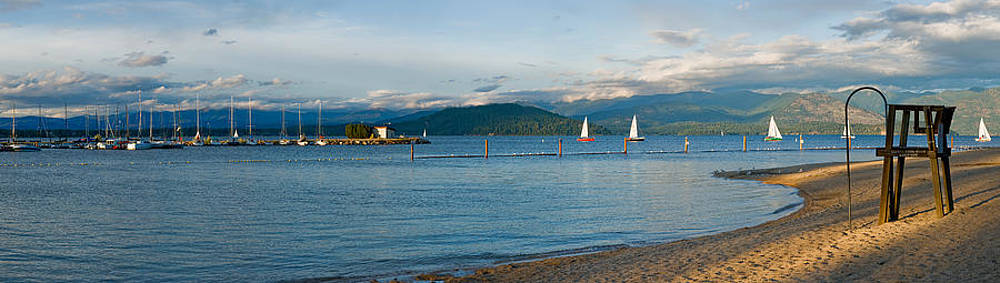 Sandpoint City Beach by Marie-Dominique Verdier