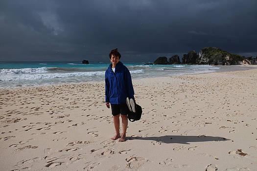 Sandra in Bermuda by Paul Thomas