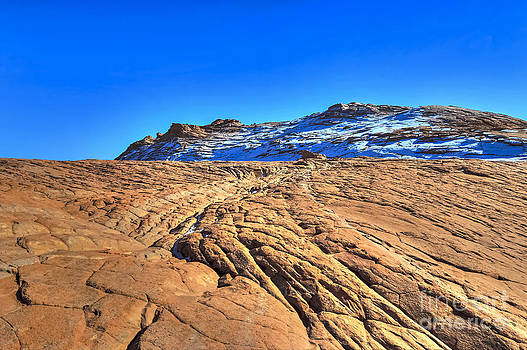Sandstone n Snow by Scotts Scapes
