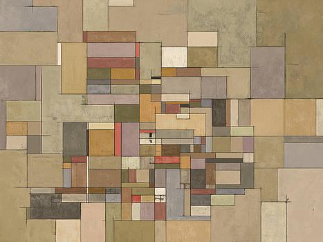 Sandstone Strata Abstract Art by Karyn Lewis Bonfiglio