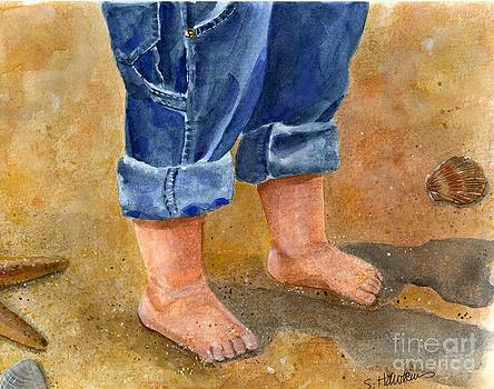 Sandy Baby Toes by Sheryl Heatherly Hawkins