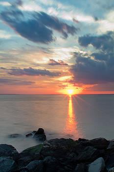 Sandy Hook Sunset by Ekaterina LaBranche