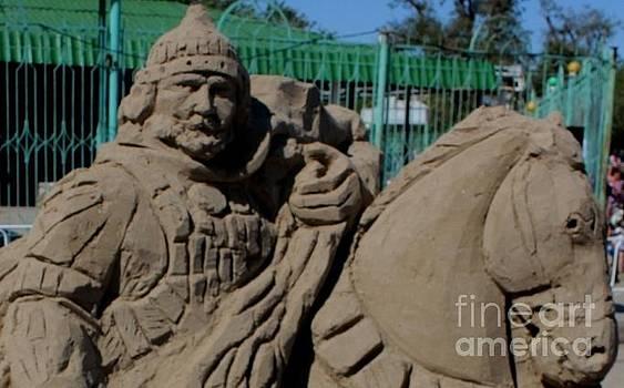 Sandy sculpture by Victoria  Tekhtilova