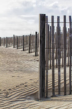Sand Fence by Bob Decker
