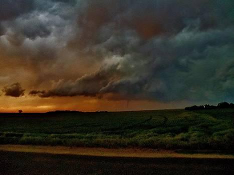 Sanford Sunset Tornado II by Ed Sweeney