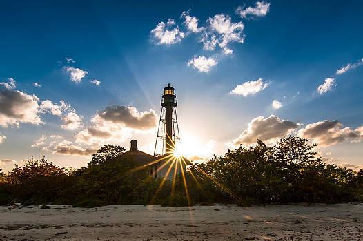 Sanibel Island Light House by Dustin Ahrens